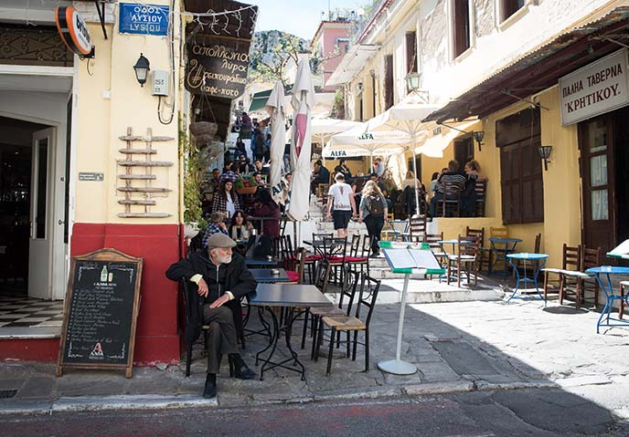 athens patio restaurants