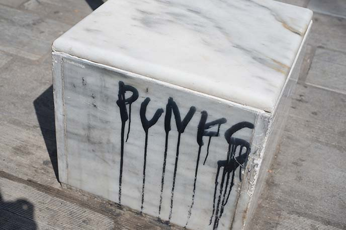 punks graffiti tag