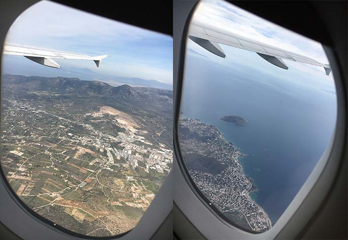 greece aegean airlines flight review