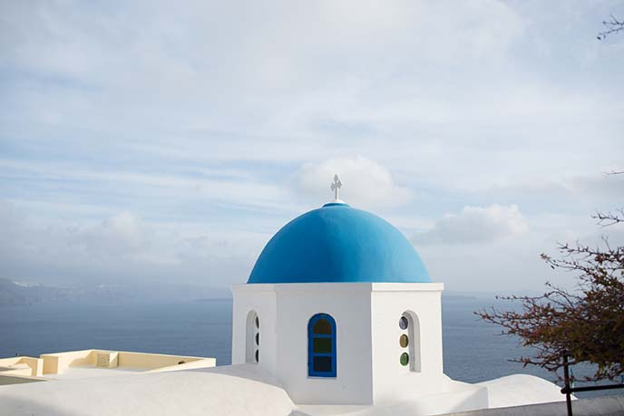 oia ia blue church
