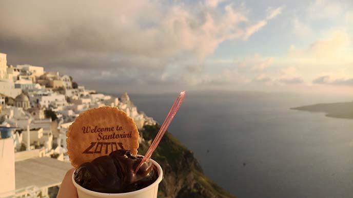holding gelato ice cream travel instagram