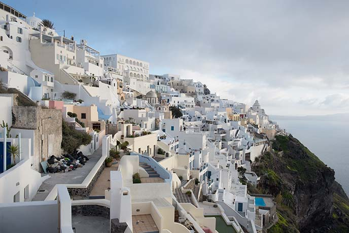 fira architecture, houses