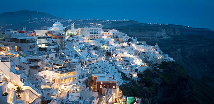 twilight lights fira