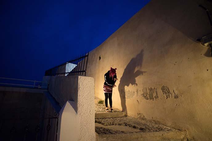 vampire dracula shadow wall