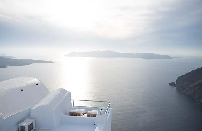 5 star villa with balcony fira