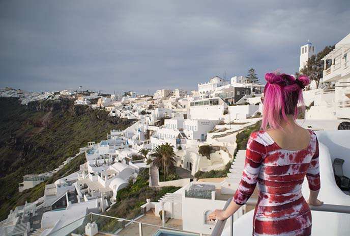 5 star hotel with view fira