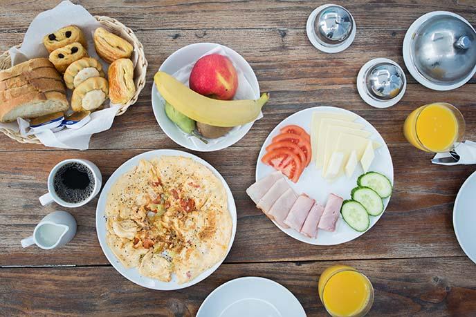 greek breakfast blue villas collections