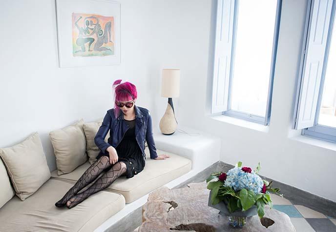 santorini honeymoon villa, luxury rentals