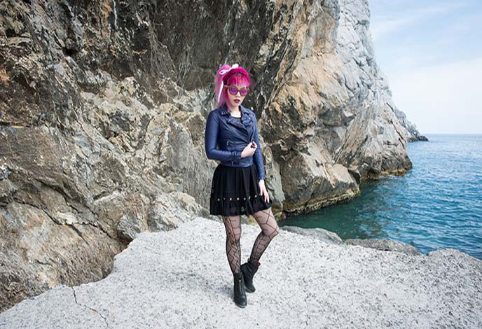 fashion blogger outfit greece