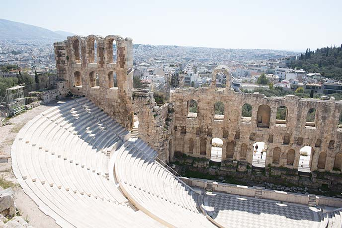 ancient greek Herodes Atticus theatre