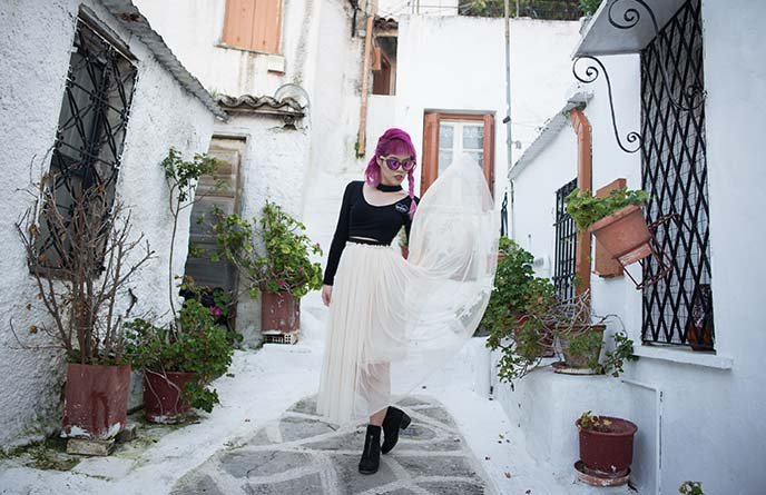 athens greece outfit post style blogger