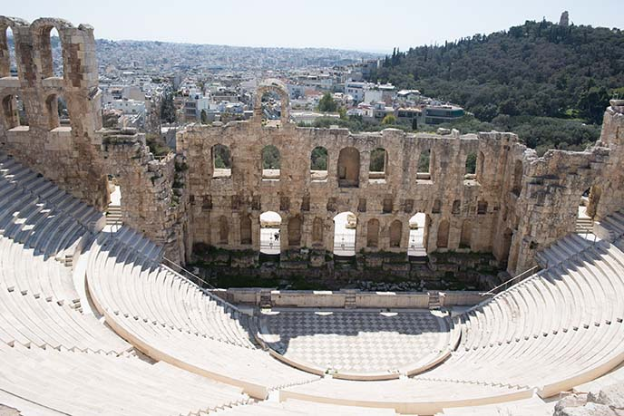 acropolis theater, stadium