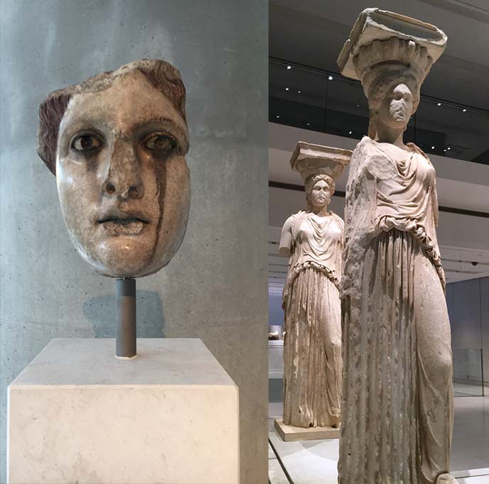 acropolis museum original caryatids