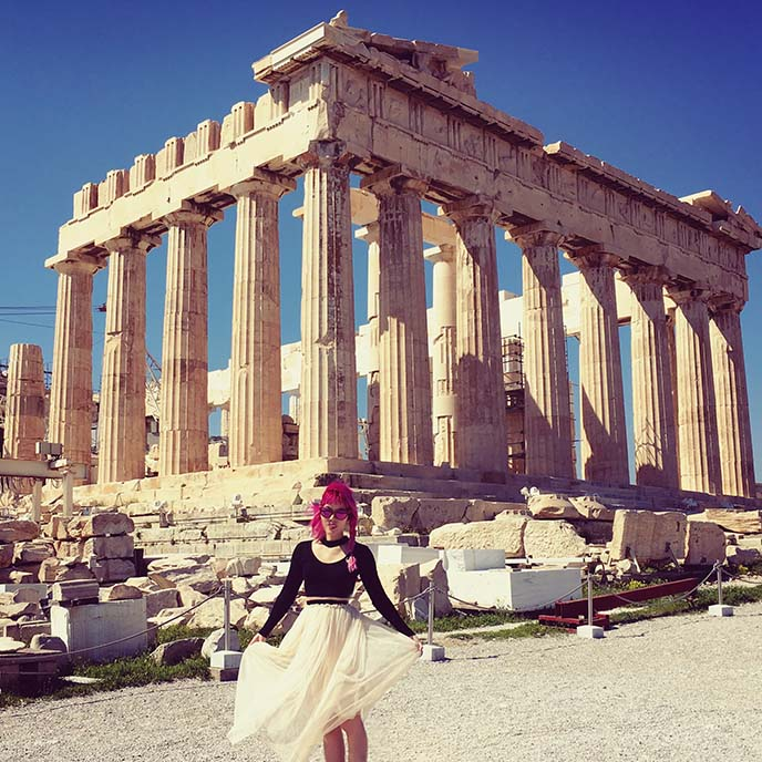 acropolis of athens instagram