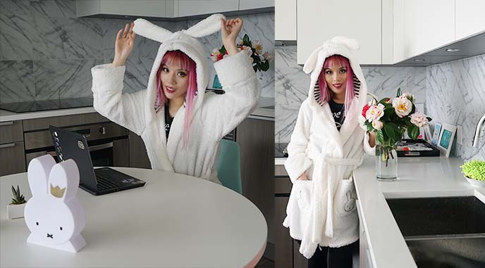 primark miffy robe, bathrobe