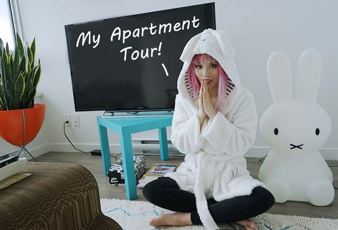 fashion blogger apartment decoration tour