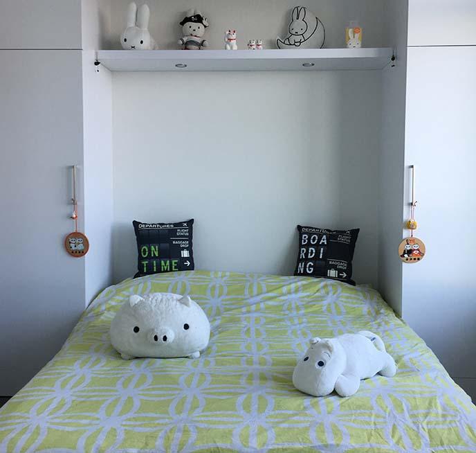kawaii cute bedroom decoration