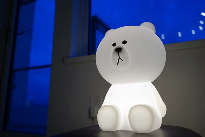 kawaii japanese cute lamps