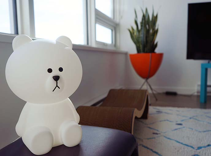 mr maria bear lamp small