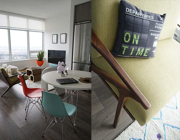 eames eiffel chairs, furniture