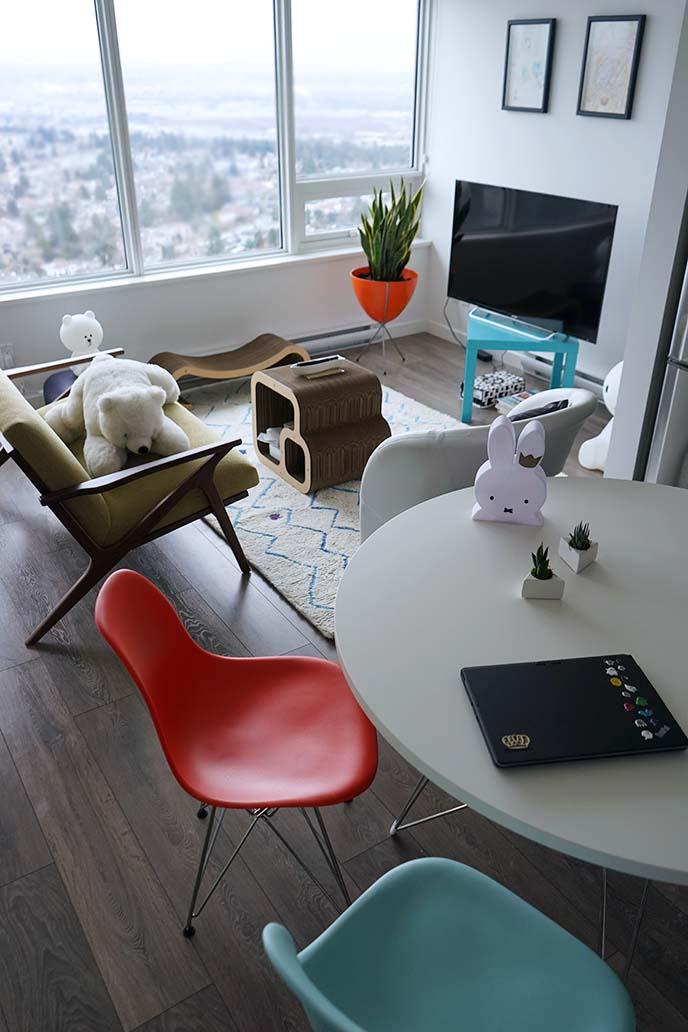 kawaii cute japan apartment design