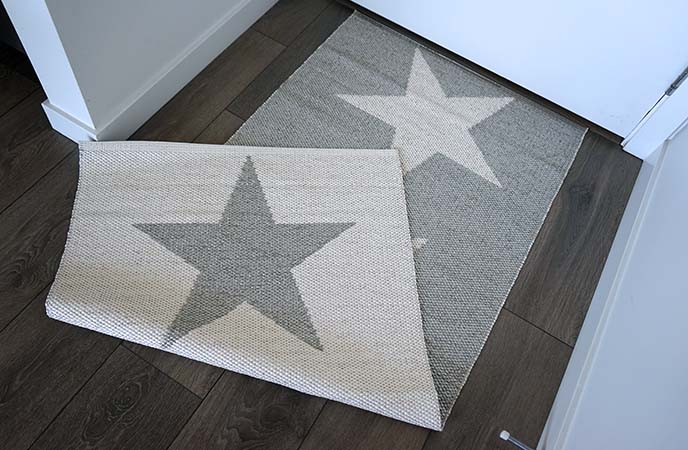 pappelina star rug