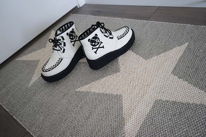 viggon star metallic pappelina rugs