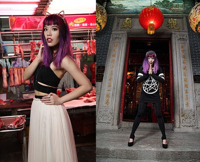 hong kong alternative goth clothing