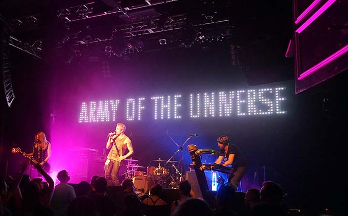 army of the universe concert