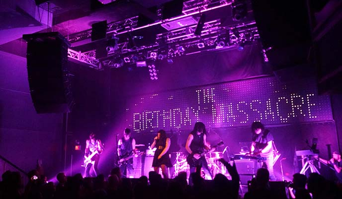 concert live birthday massacre show