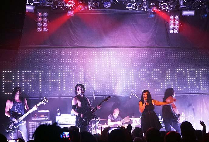 the birthday massacre tour, venue vancouver