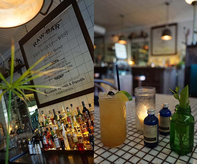 austin raw bar, hillside farmacy restaurant