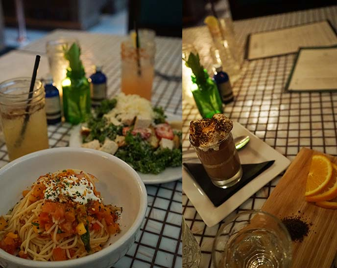 hillside farmacy menu, food dinner