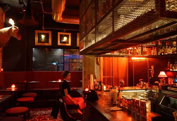 creepy weird goth bar austin texas