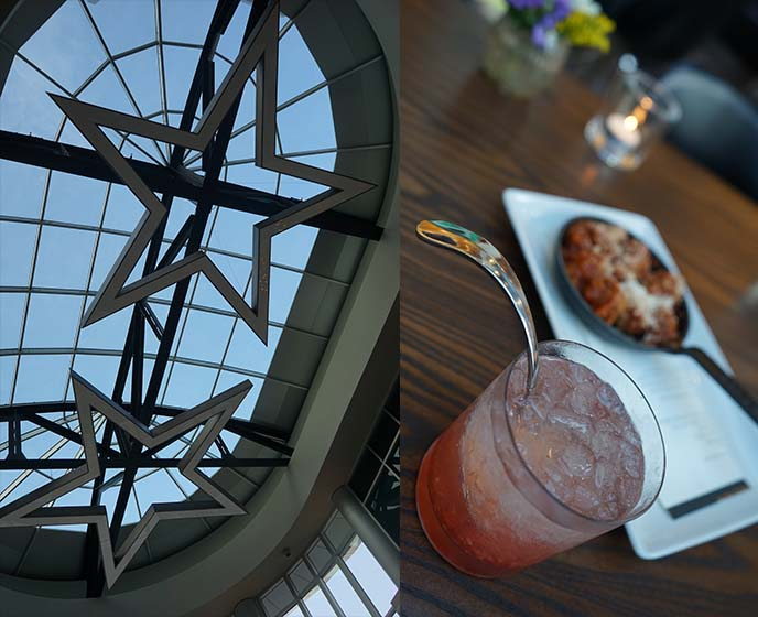 archer hotel texas star ceiling