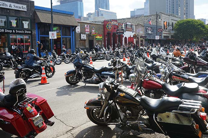 austin rot rally bikers motorcycles