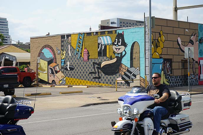 austin sixth street murals