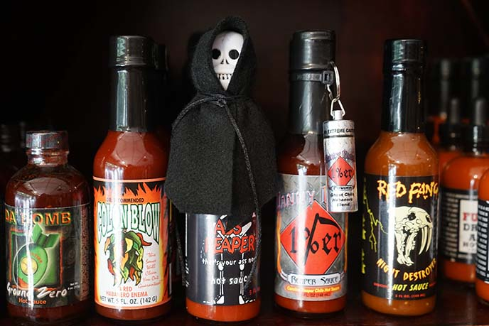 coolest hot sauce bottles, texas