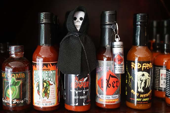 coolest hot sauce bottles, texas