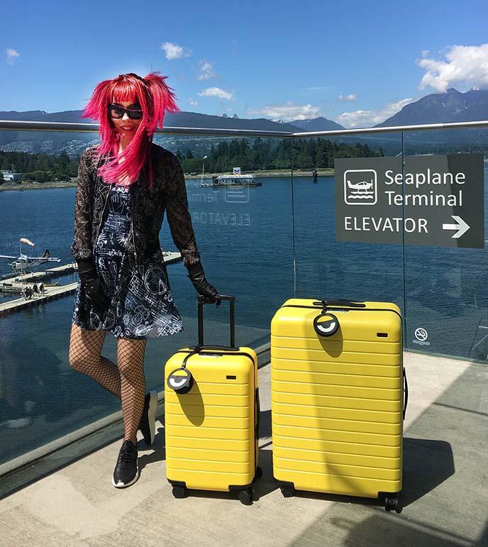away minions luggage collaboration