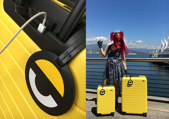 travel airport fashion style luggage