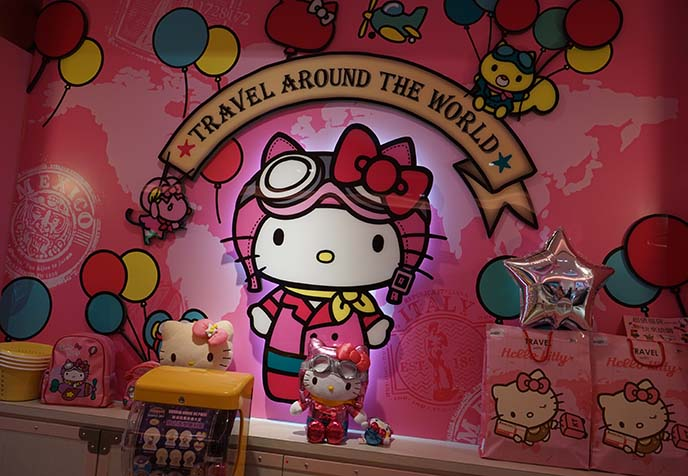taoyuan airport taiwan hello kitty