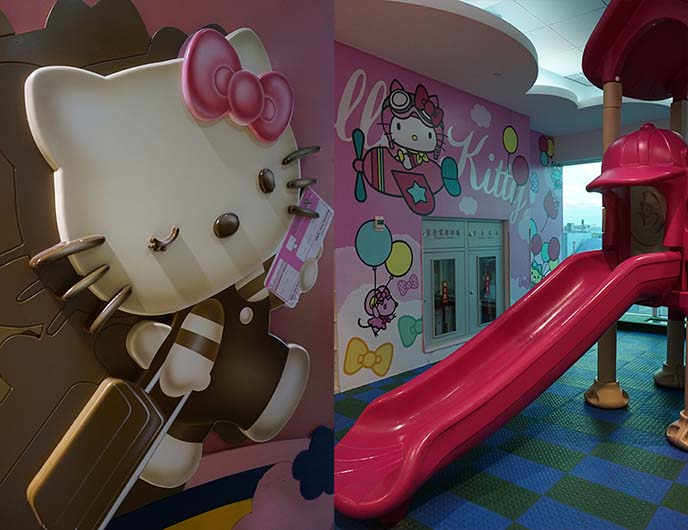 hello kitty playground, kids park