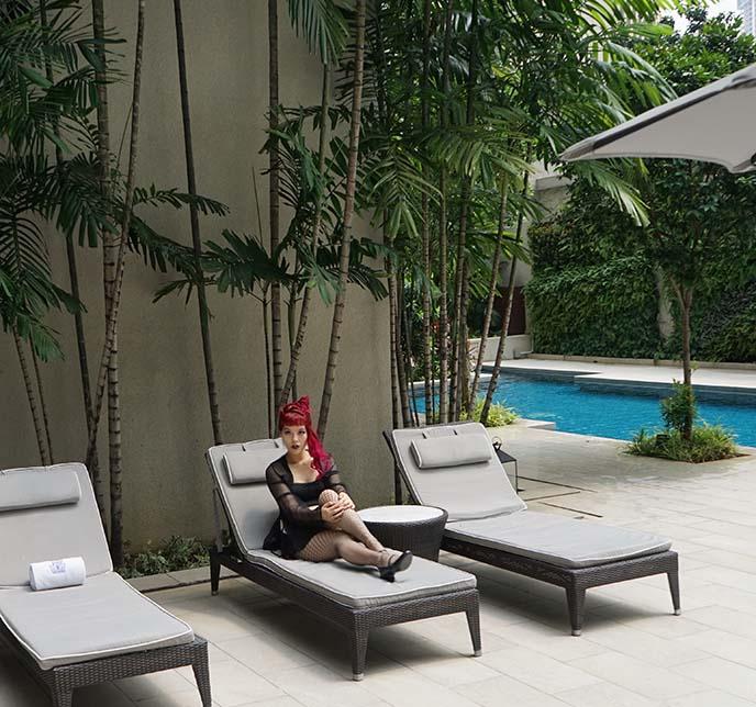 kuala lumpur luxury hotel pool