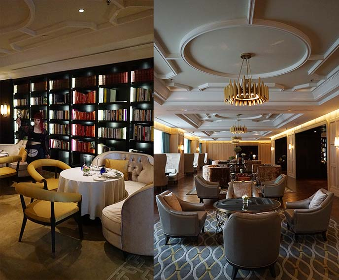 library fine dining ritz carlton