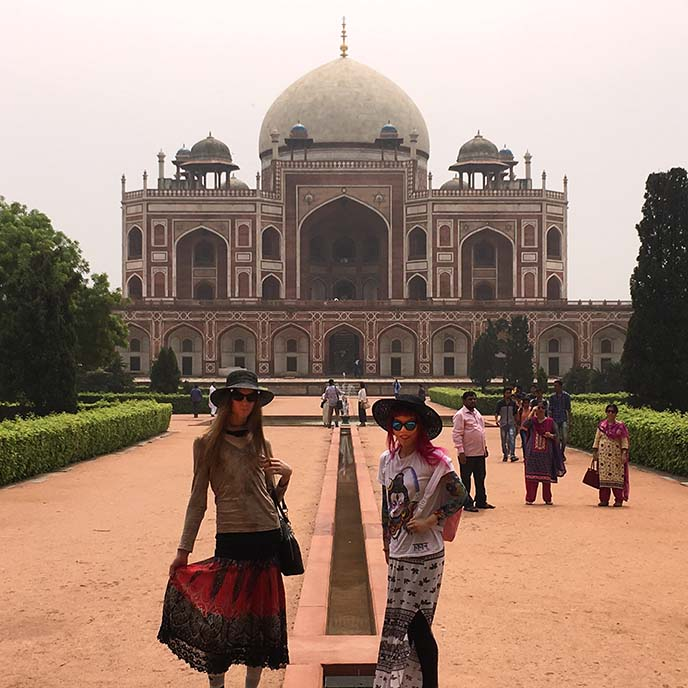 Humayan's Tomb new delhi travel attraction