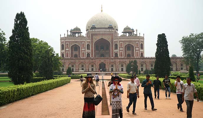 new delhi mughal architecture symmetry
