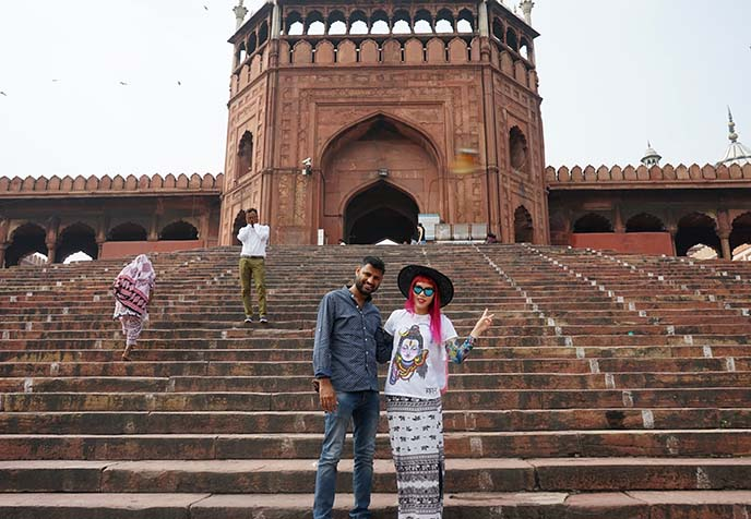 Shabbir Khan, janu private tours owner guide