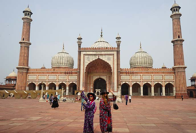 jama masjid mosque minarets