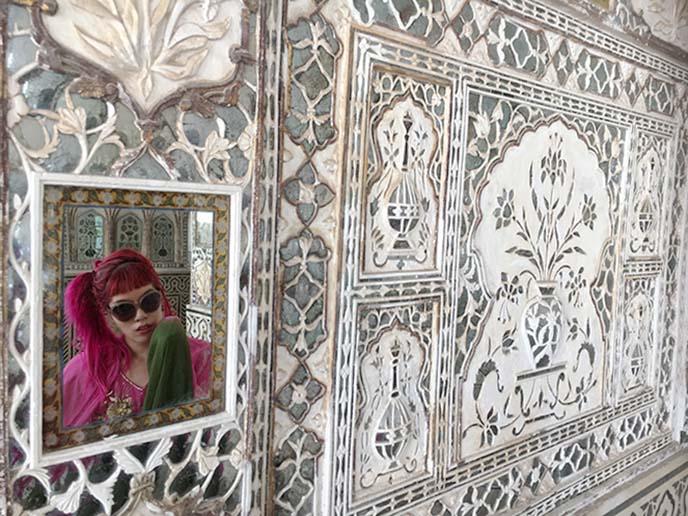 decorative walls carvings amer fort